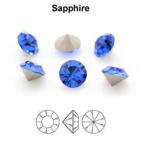 G1354-Tija pentru Swarovski Rivoli 14mm bordura joasa 1 buc