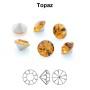 P3199-Swarovski Elements 2808 Antique Pink 14mm