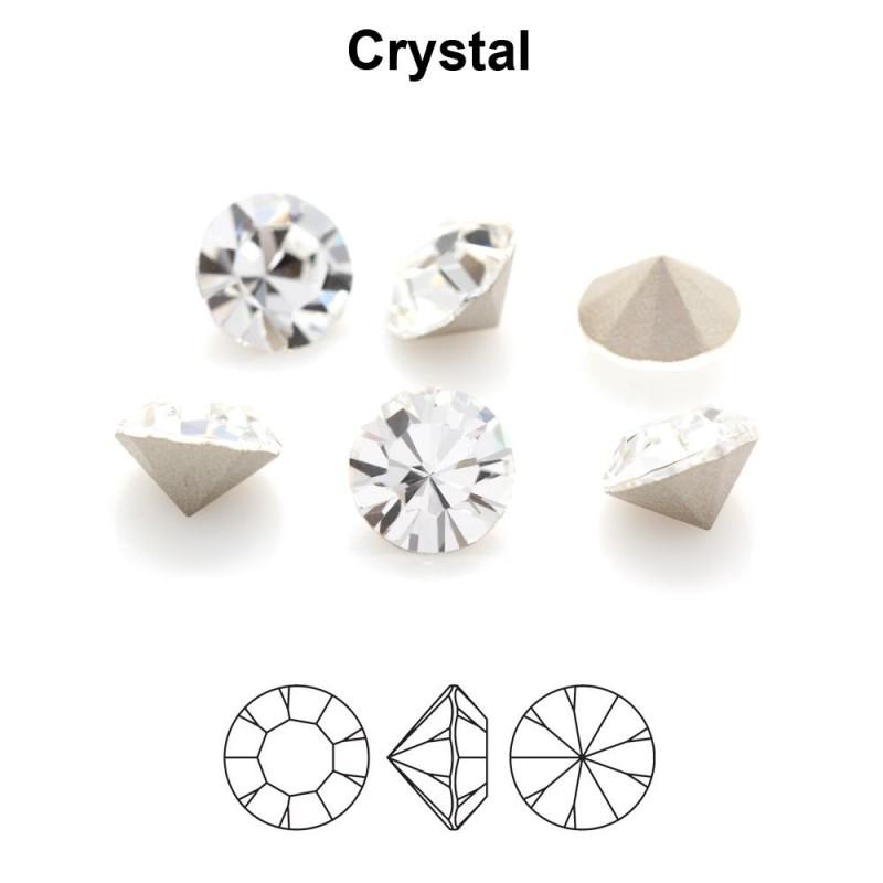 2801-SWAROVSKI ELEMENTS 6428 Chrysolite Opal 8mm-1 buc