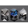 P1171-SWAROVSKI ELEMENTS 4841-Crystal Bermuda Blue Unfoiled 6mm