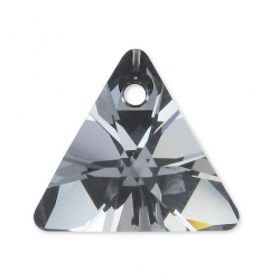 P1471-Swarovski Elements 6628 Crystal Silver Night 12mm 1 buc