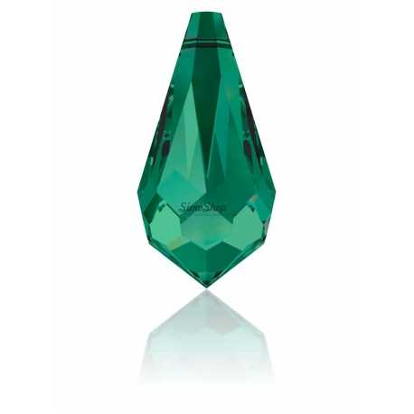 Swarovski Elements 6000 Emerald 11x5,5mm