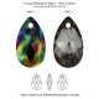 P2742-Swarovski Elements 6106 Crystal Rainbow Dark 16mm