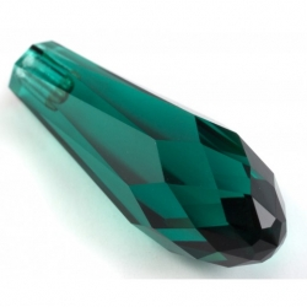 P2066-Swarovski Elements 6530 Emerald 12mm