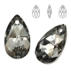 P0929-Swarovski Elements 6106 Silver Night 16mm-1 buc