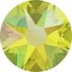 2846-SWAROVSKI ELEMENTS 2078 Citrine Shimmer Hotfix SS16 4MM-1buc