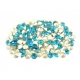 2112-Swarovski Elements 1088 Blue Zircon Foiled PP 18 2.5mm