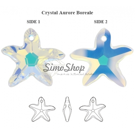 P0707-Swarovski Elements 6721 Crystal Aurore Boreale 16mm-1 buc