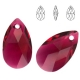 P0195-Swarovski Elements 6106 Ruby 22mm-1 buc