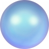 2863-Swarovski Elements 5818 Iridescent Light Blue Pearl 6mm