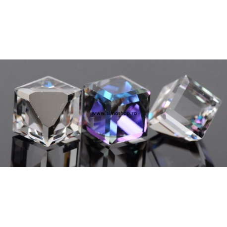 P1190-SWAROVSKI ELEMENTS 4841-Crystal Heliotrope Unfoiled 8mm