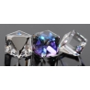 P1190-SWAROVSKI ELEMENTS 4841-Crystal Heliotrope Unfoiled 8mm