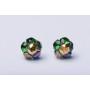 P1191-SWAROVSKI ELEMENTS 4841-Crystal Bermuda Blue Unfoiled 8mm