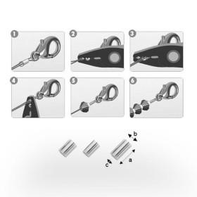 P1192-SWAROVSKI ELEMENTS 4841-Crystal AB CAL VZ Unfoiled 8mm