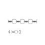 P1194-SWAROVSKI ELEMENTS 4841-Crystal Vitrail Light Unfoiled 8mm