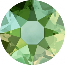 2829-SWAROVSKI ELEMENTS 2078 Peridot Shimmer Hotfix SS20 4.8mm