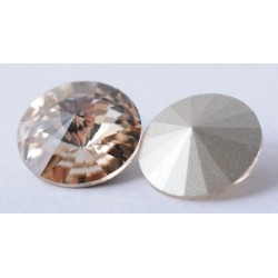 P1205-SWAROVSKI ELEMENTS 1122 Light Silk Foiled SS47 -11mm