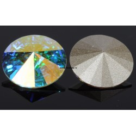 2008-SWAROVSKI ELEMENTS 1122 Crystal Aurore Boreale F SS29-6.5mm