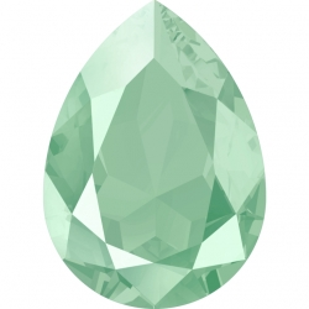 P3311-Swarovski Elements 4320 Mint Green 14x10mm