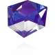 P3208 - Swarovski Elements 4928 Tilted Chaton - Crystal - 12mm Folied