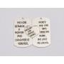 P3316-Swarovski Elements 4933 Tilted Dice Crystal Purple Z CALVSI 19mm