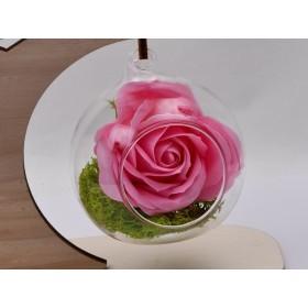 G1510-Link argint flore de lotus 14.40x15.80MM - 1 Buc