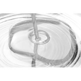 G1548-tija cercei model inimioara cu loc pentru 11 cristale swarovski PP9  - 1buc