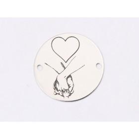 P2524-Swarovski Elements 1088 Lilac Shadow Foiled SS34 7mm