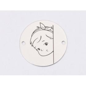 P1635-Swarovski Elements 1088 Rose Peach Foiled SS39 8mm