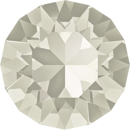 P2537-Swarovski Elements 1088 Silver Shade Foiled SS29 6mm