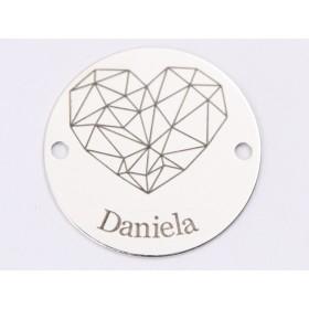 P1643-Swarovski Elements 1088 Luminous Green Foiled SS39 8mm
