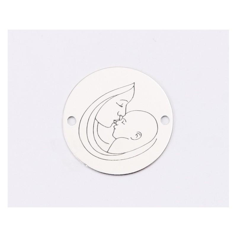 P2282-SWAROVSKI ELEMENTS 4470 Crystal Silver Night Foiled 10mm