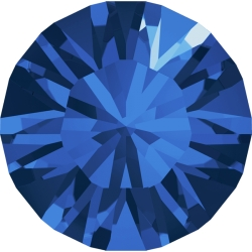 0790-Swarovski Elements 1028 Capri Blue Foiled PP9 1.5mm 50BUC