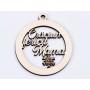 P1264-Swarovski Elements 1088 Violet Foiled SS34 7mm 1 buc