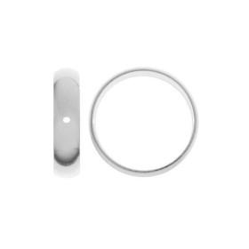 G737-Baza simpla pandant pentru Swarovski Heart 2808 de 10mm