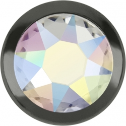 2755-Swarovski Elements 2078/H Crystal Crystal Silver-Foiled GR 7mm - 1BUC