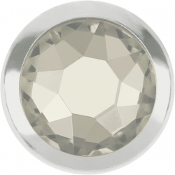 2757-Swarovski Elements 2078/H Crystal Crystal Silver-Foiled SR 7mm - 1BUC