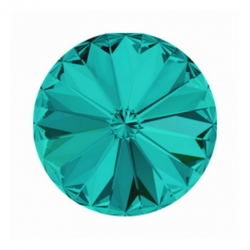 P3365-SWAROVSKI ELEMENTS 1122 Blue Zircon Foiled SS47 11mm