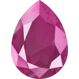P3372-Swarovski Elements 4320 Peony Pink 14x10mm