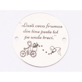 G1681-Charm inimioara argint 925  8.80x10mm 1 buc