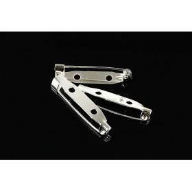 G1582- Inel Logodna de argint 925 cu cristal de 9MM, diametru 17.80MM - 1Buc