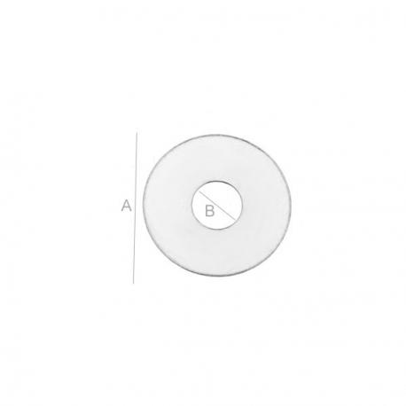 G1722- Distantier Argint 925 cu o gaura - 9.90MM -1 buc