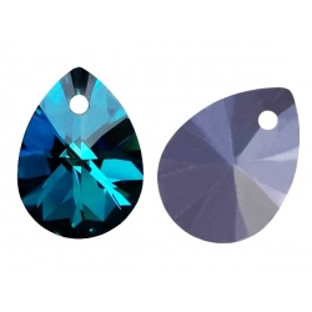 P3389-Swarovski Elements 6128 Crystal Bermuda Blue 12mm