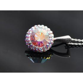 2958-Swarovski Elements 5810 Crystal Pastel Grey Pearl 12mm