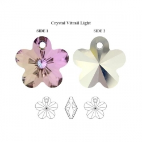 P1653-Swarovski Elements 6744 Vitrail Light 12mm-1 buc
