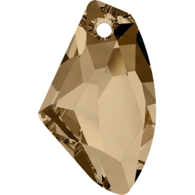 P1564-SWAROVSKI ELEMENTS 6656 Crystal Golden Shadow 19mm-1 buc