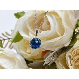 2964-Swarovski Elements Ring diametrul 15.6mm Crystal White Opal Foiled PP18