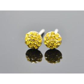 2965-Swarovski Elements Ring diametrul 15.6mm Crystal Moonlight Foiled PP18
