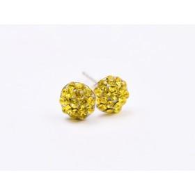 2966-Swarovski Elements Ring diametrul 15.6mm Crystal Golden Shadow PP18