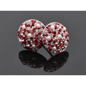 2969-Swarovski Elements Ring diametrul 15.6mm Emerald PP18
